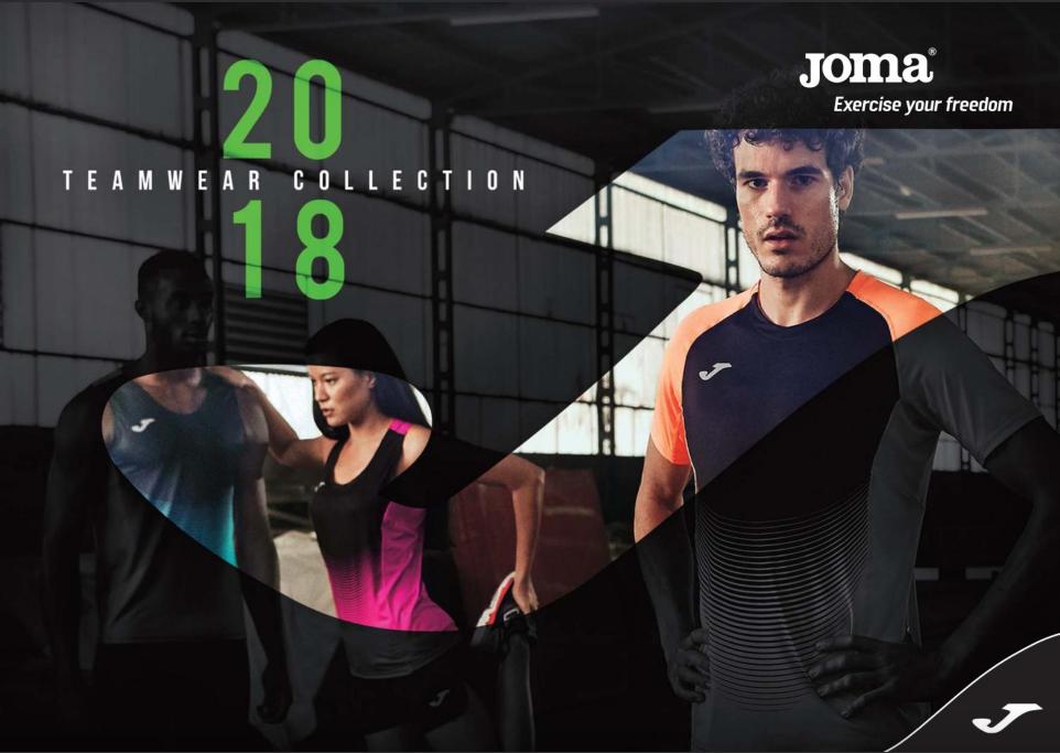 JOMA Teamwear 2018